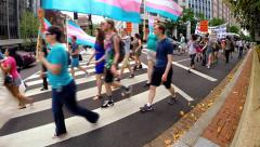 Transgender Rights (Clip 4 of 4) Stock Footage