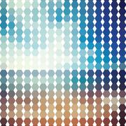 Abstract geometric colorful background, pattern design elements, vector illus - stock illustration