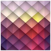 vector, gradient, decoration, square, form, tile, print, periodic, triangle, - stock illustration