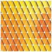 Vector, gradient, decoration, square, form, tile, print, periodic, triangle, Stock Illustration