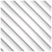 Abstract 3D stripe background, white, vector illustration Stock Illustration