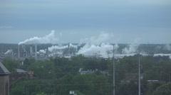 4K UHD ULTRA HD (Tulsa Oklahoma Factory 1) Kulltech Stock Footage