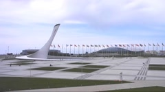 Sochi Olympic park area in Russia Stock Footage