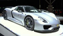 Porsche 918 Spyder Stock Footage