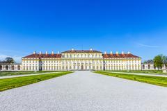 historic castle Schleissheim near Munich - stock photo