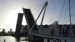 Wynyard Draw Bridge - stock footage