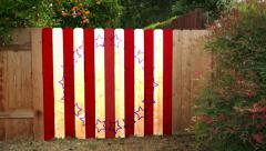 4k presidential small home town backgrounds american flag abstract cool funky Stock Footage