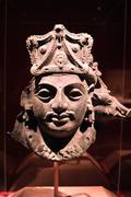 Historical Bust Sculpture - stock photo