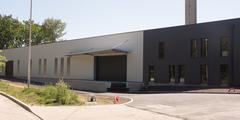 New Commercial Building available for sale or lease - stock photo