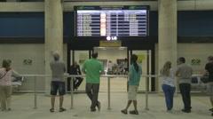 Santos Dumont Airport -  Infraero -  Rio de Janeiro - Brazil Stock Footage