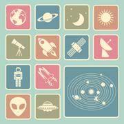 Stock Illustration of astronomy icon