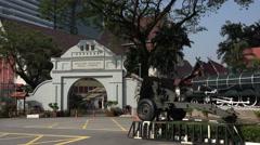 National Museum, Kuala Lumpur, Malaysia Stock Footage