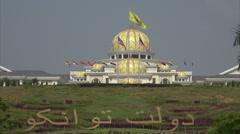 Kings Palace or Royal Palace, Kuala Lumpur, Malaysia Stock Footage