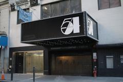 New York City - Manhatten - Studio 54 - Disco - Club Legend - stock photo