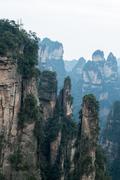 Zhangjiajie National Park, China. Stock Photos