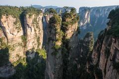 Zhangjiajie National Park, China. Kuvituskuvat