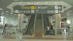 Santos Dumont Airport -  Rio de Janeiro - Brazil Stock Footage