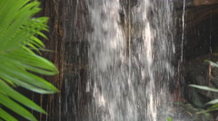 Waterfall at the Kbal Spean River in Angkor, Cambodia Stock Footage