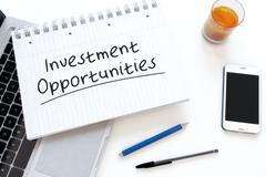 Investment Opportunities Stock Illustration