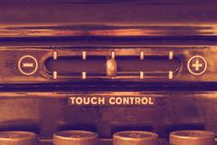 Vintage Touch Control Stock Photos