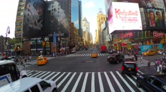 A view of 8th Ave in New York Stock Footage