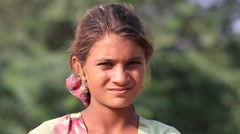Video 1920x1080  Poor girl at the the annual Pushkar Camel Mela. India Stock Footage