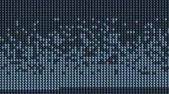 4k Particles dots beads background,neon Scanning big data,technology high tech. Stock Footage