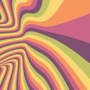 Pattern with optical illusion. Abstract background. Optical art Stock Illustration