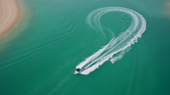 Watersport Shot - stock footage