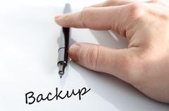 Backup concept Stock Photos