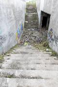 Abandoned underpass Stock Photos