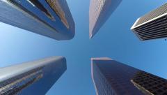 Los Angeles Skyscrapers Stock Footage