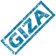 Stock Illustration of Giza rubber stamp