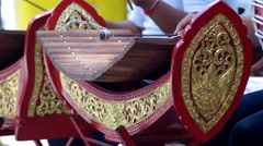 Thai musical instruments xylophone Arkistovideo