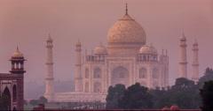 4K Taj Mahal timelapse - stock footage