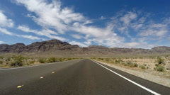 Lake Mead Nevada - North Shore Drive Time Lapse HD - stock footage