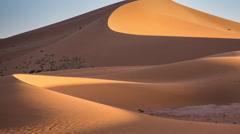 Erg chigaga dune sand sahara desert morocco Stock Footage