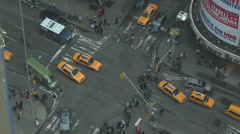 NYC Times Square 7th Avenue Stock Footage