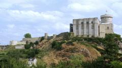 Chateau de Falaise - Falaise France Stock Footage