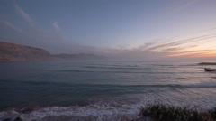 Imessouane sea ocean morocco wild environment nature Stock Footage