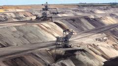 Coal mine Stock Footage