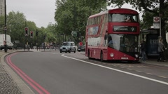 Traffic in Central London. Day   HD 1080 Stock Footage