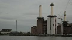 Battersea Power Station, London. Day | HD 1080 Stock Footage