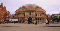 The Royal Albert Hall, London | 4K HYPERLAPSE Stock Footage