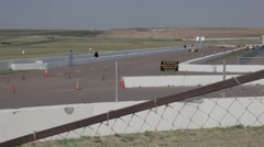 High Plains Raceway, Deer Trail, Colorado Stock Footage