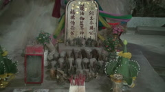 Buddhist Temple Cave - 5 Stock Footage