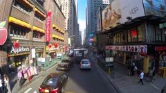 Transportation in Lower Manhattan Stock Footage