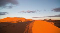 Stock Video Footage of erg chebbi dune sunset sand sahara desert morocco merzouga