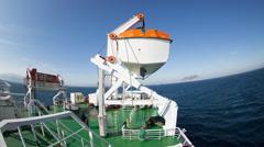algeciras spain shipping harbour port passenger ferry transportation - stock footage