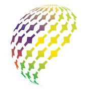 Logo icon,logo element Stock Illustration